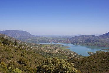 Embalse de Zahara, Malaga Province, Andalucia, Spain, Europe