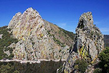 Salto del Gitano, Monfrague National Park, and River Tajo Extremadura, Spain, Europe