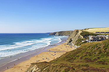 Watergate Bay, Newquay, Cornwall, England, United Kingdom, Europe