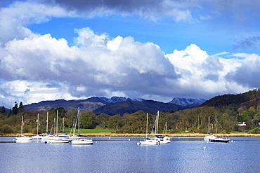 Ambleside, Lake Windermere, Lake District National Park, Cumbria, England, United Kingdom, Europe
