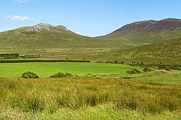 Eagle Mountain and Shanlieve, Mourne Mountains, County Down, Ulster, Northern Ireland, United Kingdom, Europe