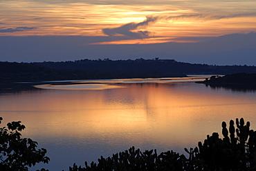 Queen Elizabeth National Park, Kazinga Channel, Uganda, East Africa, Africa