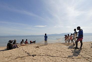 Mangochi beach, Lake Malawi, Malawi, Africa