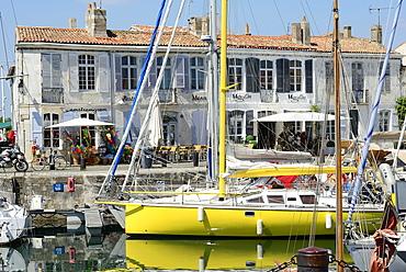 Port, St. Martin de Re, Ile de Re, Charente-Maritime, Poitou-Charentes, France, Europe
