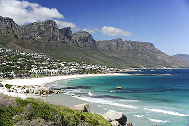 The Twelve Apostles, Camps Bay, Cape Town, Cape Province, South Africa, Africa