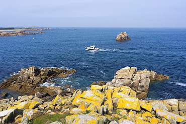Sea view, St. Agnes island, the Scillies, United Kingdom, Europe