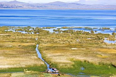 Lake Titicaca, Peru, South America