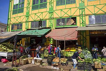 Central market, Valparaiso, UNESCO World Heritage Site, Chile, South America