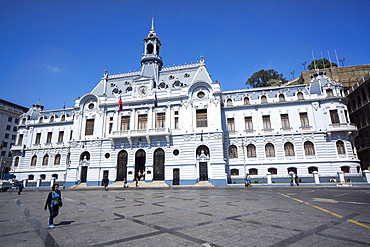The Admiralty Building, Valparaiso, Chile, South America