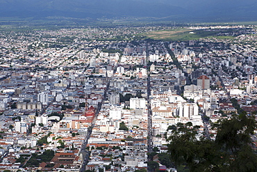 Salta from above, Argentina, South America