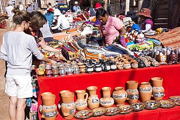 Market, Pumamarca, Jujuy, Argentina, South America