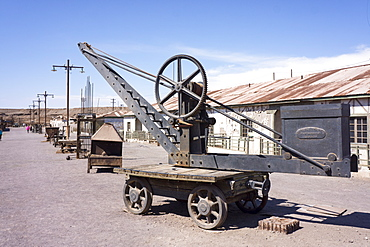 Humberstone saltpeter mine, UNESCO World Heritage Site, Chile, South America