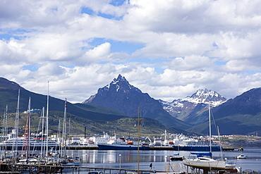 Harbour, Ushuaia, Tierra del Fuego, Argentina, South America