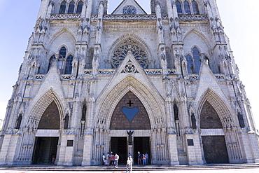 Basilica del Voto Nacional (Basilica of the National Vow), Quito, Ecuador, South America