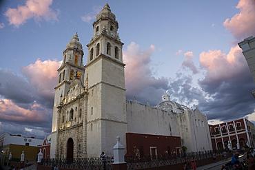 Cathedral de Nuestra Signora de Purisima Concepcion, Campeche, UNESCO World Heritage Site, Yucatan, Mexico, North America