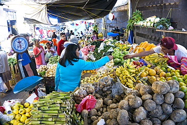 Valle de Bravo, markets and streetfood, Mexico, North America
