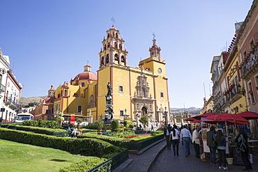 Basilica Colegiata de Nuestra Senora de Guanajuato, Guanajuato, UNESCO World Heritage Site, Mexico, North America