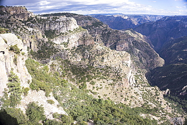Copper Canyon, larger and deeper than the Grand Canyon, Mexico, North America