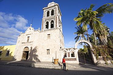 Church la Signora de Loreto 1697, the first Jesuit mission in Baja California, San Loreto, Baja California, Mexico, North America