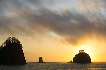 La Push, islands, Indian Reservation of the Quileute people, Washington State, United States of America, North America