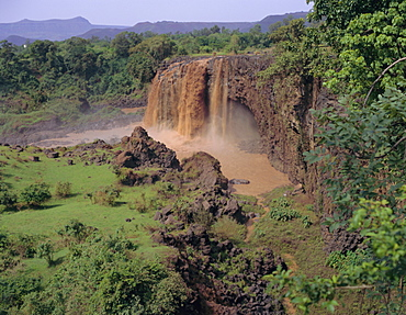 Thomson Falls on the Blue Nile, Ethiopia, Africa