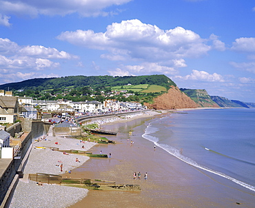 Sidmouth, south Devon, England, UK