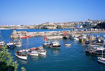 Harbour, Newquay, Cornwall, England, United Kingdom, Europe