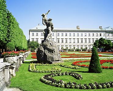 Mirabell Gardens, UNESCO World Heritage Site, Salzburg, Austria, Europe