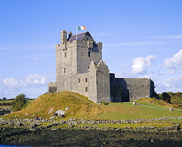 Dunguaire Castle, Kinvarra Bay, Co Galway, Ireland