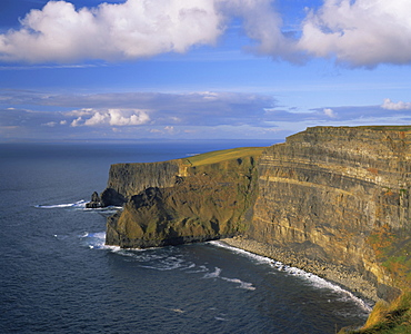 The Cliffs of Moher, County Clare (Co. Clare), Munster, Republic of Ireland (Eire), Europe