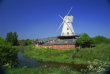 Windmill, Rye, East Sussex, England, United Kingdom, Europe
