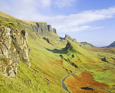 The Quiraing, Isle of Skye, Highlands Region, Scotland, UK, Europe