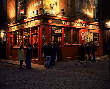 Temple Bar, Dublin, Eire (Republic of Ireland), Europe