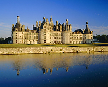 Chateau Chambord, Loire Valley, Centre, France, Europe