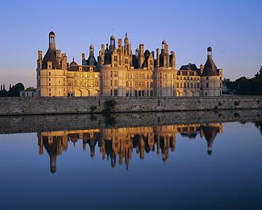 Chateau de Chambord, Loire Valley, UNESCO World Heritage Site, France, Europe