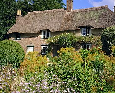 Thomas Hardy's cottage, Bockhampton, near Dorchester, Dorset, England, UK