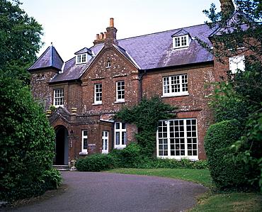 Maxgate, where Thomas Hardy died, Dorchester, Dorset, England, United Kingdom, Europe