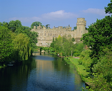 Warwick Castle, Warwick, Warwickshire, England, UK, Europe