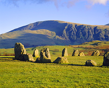 Castlerigg Stone Circle, Cumbria, Lake District, England