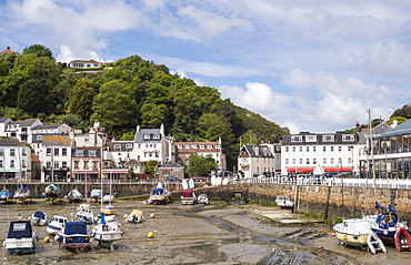 St. Aubin and its Harbour, Jersey, Channel Islands, United Kingdom, Europe