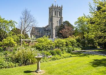 Christchurch Priory, Christchurch, Dorset, England, United Kingdom, Europe