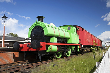 Percy saddle tank locomotive, Museum of Scottish Railways, Bo'ness, Scotland, United Kingdom, Europe