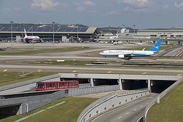 Kuala Lumpur International Airport, Kuala Lumpur, Malaysia, Southeast Asia, Asia