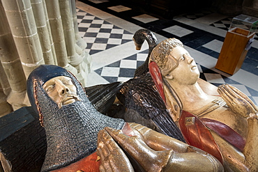 Beauchamp Tomb, Worcester Cathedral, Worcester, England, United Kingdom, Europe