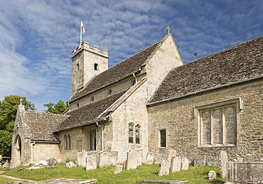 St. Mary's Church, Swinbrook, Oxfordshire, Cotswolds, England, United Kingdom, europe