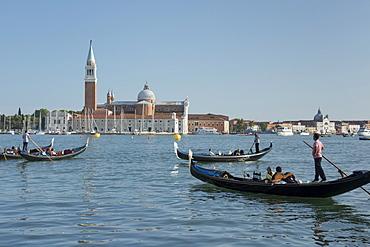 Church of San Giorgio Maggiore, Venice, UNESCO World Heritage Site, Veneto, Italy, Europe
