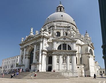 Church of Santa Maria della Salute, Venice, UNESCO World Heritage Site, Veneto, Italy, Europe