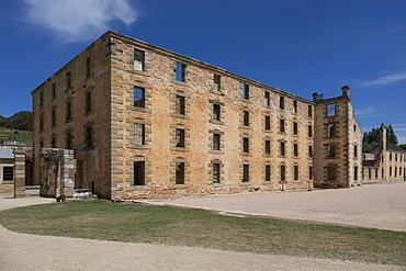 Main block, Port Arthur Historic Penal Colony, Tasmania, Australia, Pacific