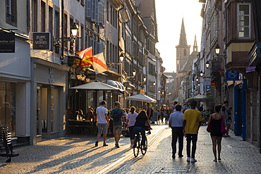 Grand Rue, Petite France, Strasbourg, Alsace, France, Europe