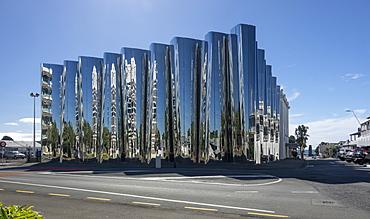 Govett-Brewster Art Gallery Len Lye Centre, New Plymouth, Taranaki, North Island, New Zealand, Pacific